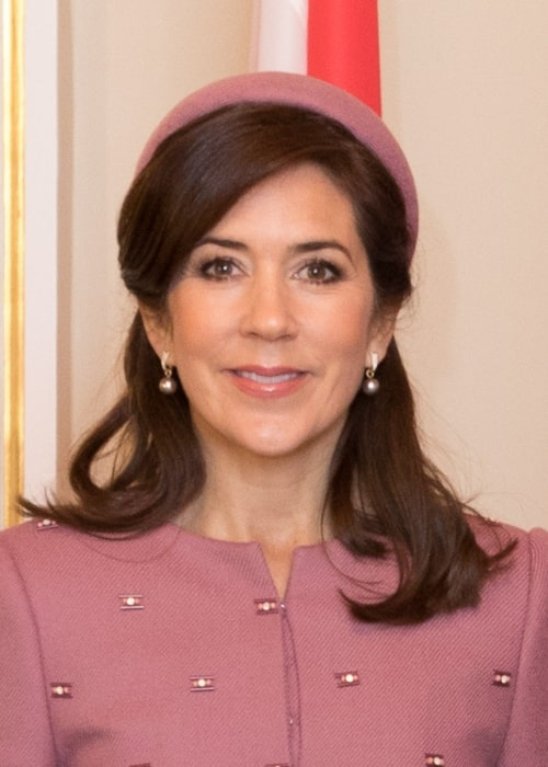 Mary, Crown Princess of Denmark as seen in December 2018