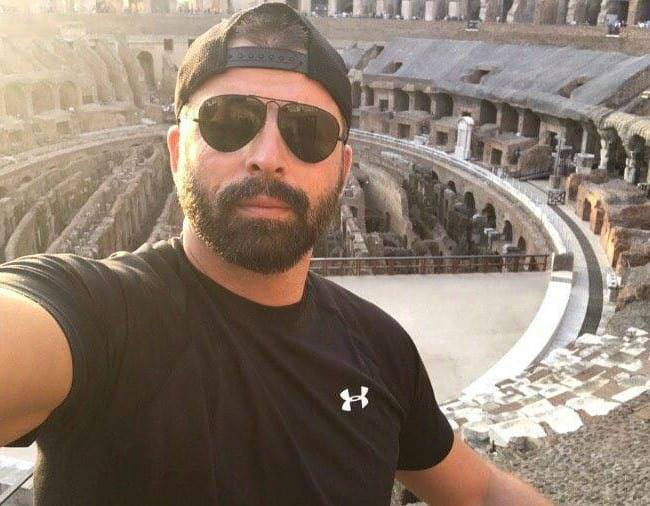 Mehmet Akif Alakurt in a selfie in October 2017
