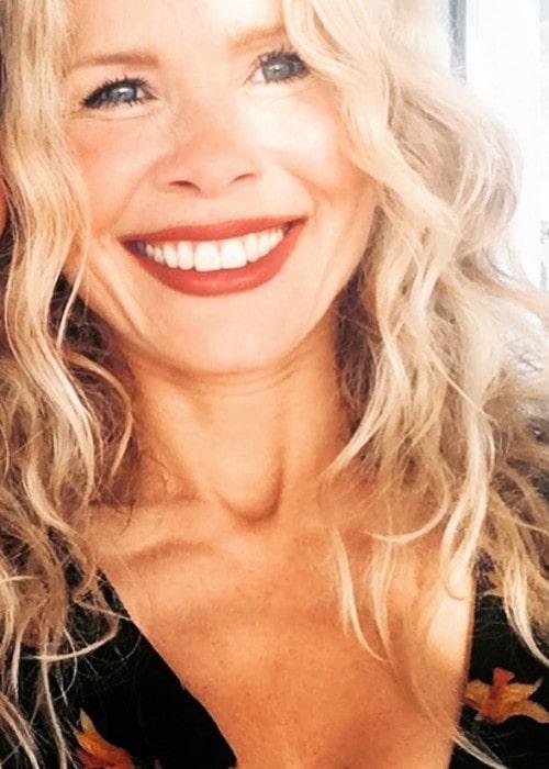 Melinda Messenger as seen in May 2018