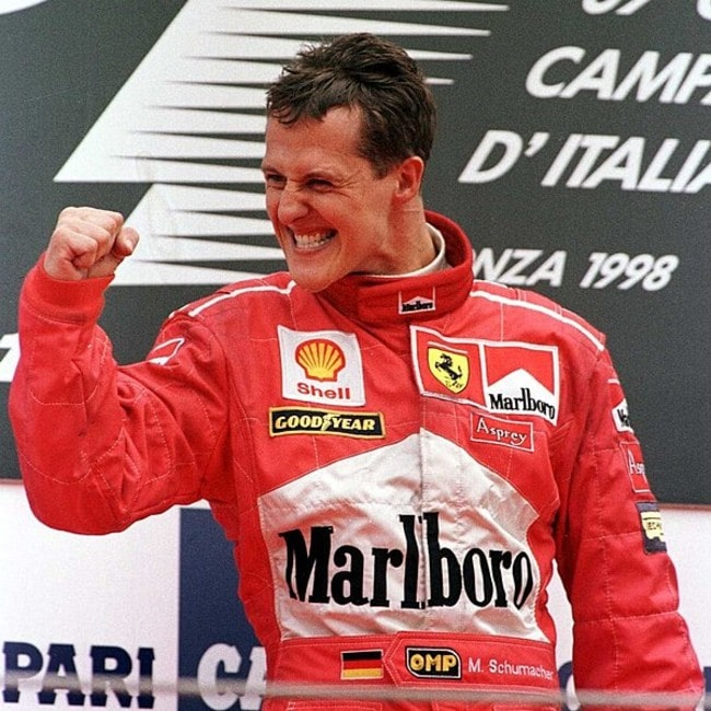Michael Schumacher as seen in September 1998