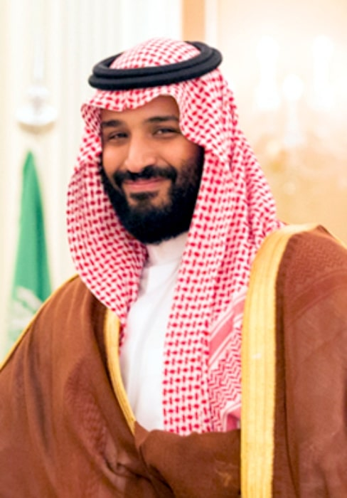 Mohammad bin Salman as seen at the Royal Court Palace in Riyadh, Saudi Arabia in May 2017