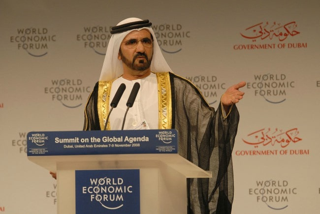 Mohammed bin Rashid Al Maktoum as seen in November 2008