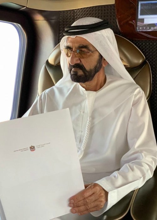 Mohammed bin Rashid Al Maktoum in an Instagram post in September 2019