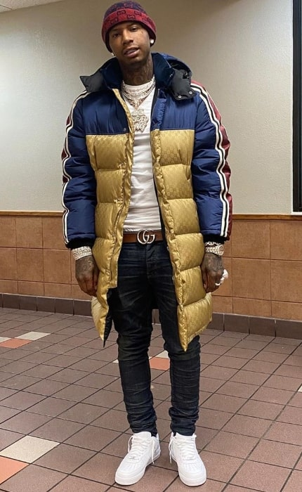 Moneybagg Yo as seen while posing for the camera in January 2020
