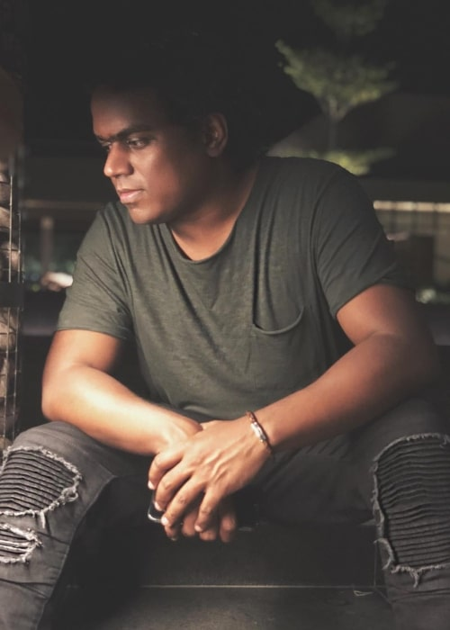 Music composer Yuvan Shankar Raja as seen in 2018