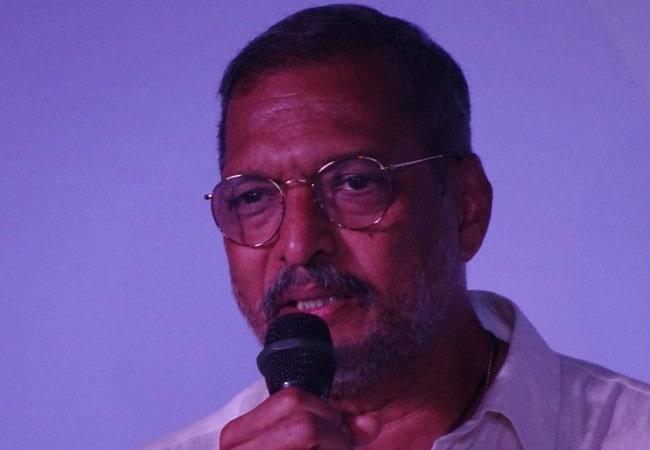 Nana Patekar at IFFI Goa as seen in November 2017