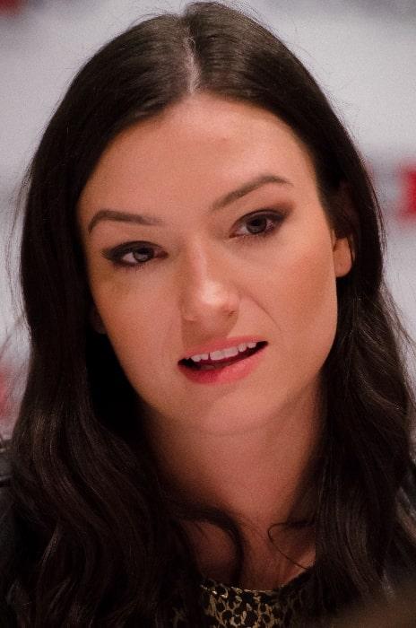 Natasha Negovanlis as seen in September 2016