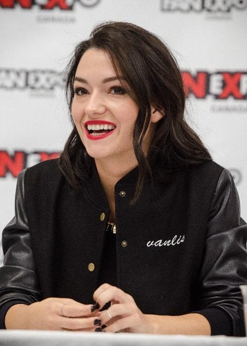 Natasha Negovanlis as seen in September 2017