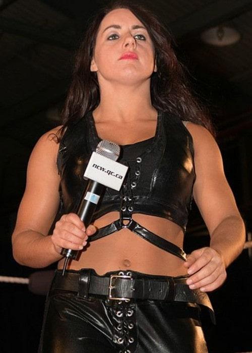 Nikki Cross as seen in April 2014