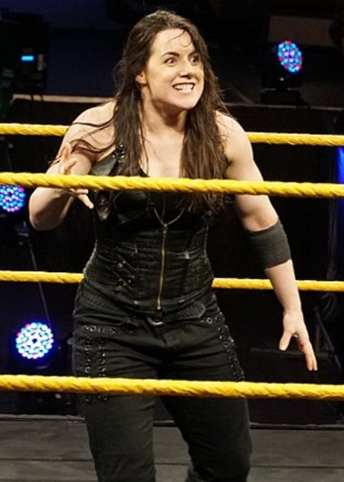 Nikki Cross as seen in April 2018