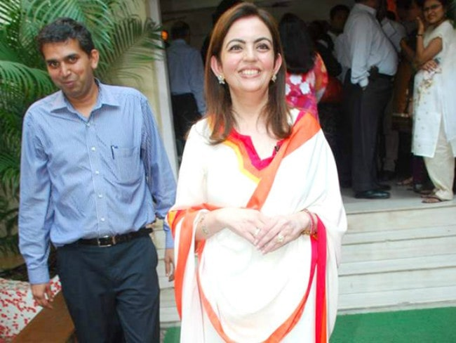 Nita Ambani as seen in 2012