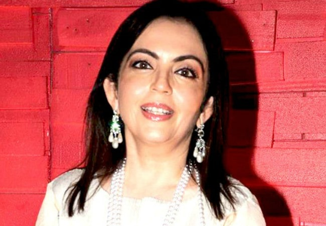 Nita Ambani as seen in May 2012