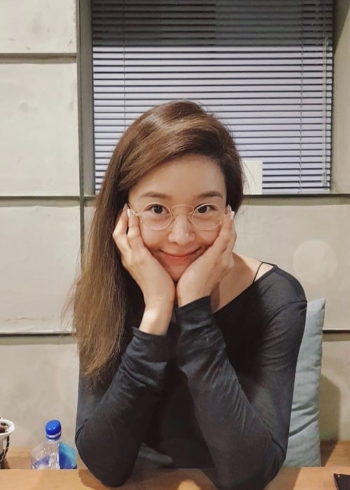 Ock Joo-hyun as seen in a picture taken in September 2019