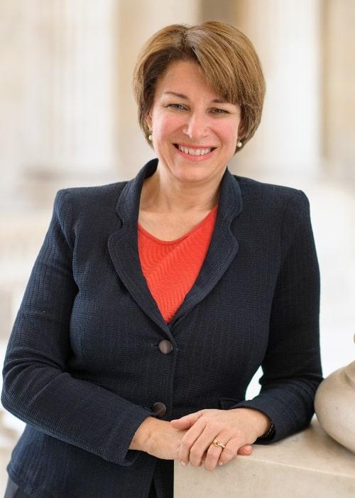 Official portrait of U.S. Senator Amy Klobuchar in March 2013
