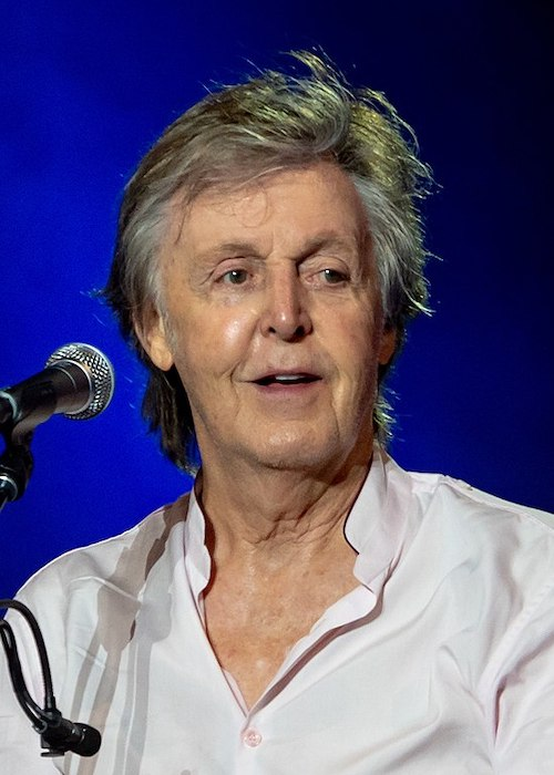 Paul McCartney at the Austin City Limits Music Festival in Austin, Texas in October 2018