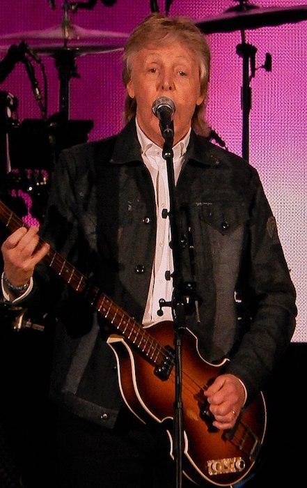 Paul McCartney live in São Paulo, Brazil in 2019