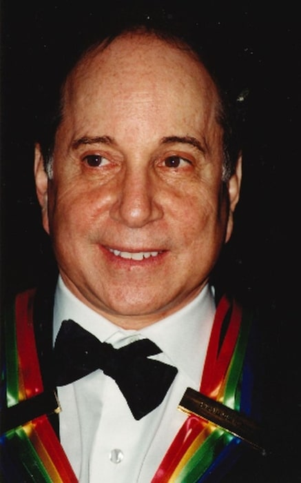 Paul Simon as seen during the Kennedy Center Honors 2002