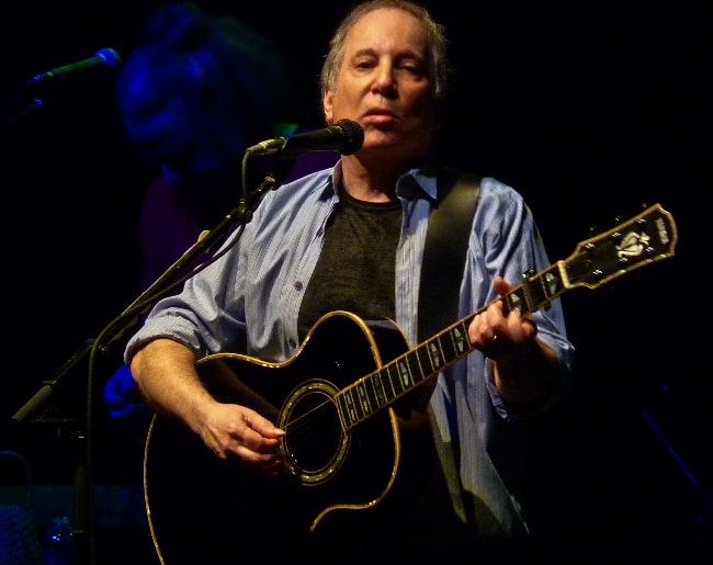 Paul Simon as seen while performing at the 9:30 Club in Washington, D.C., United States in May 2011