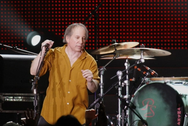 Paul Simon as seen while performing in September 2008