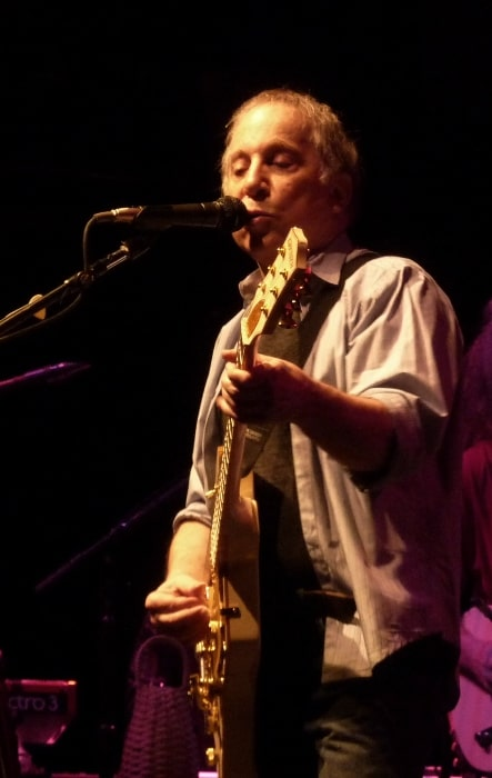 Paul Simon as seen while playing at the 9:30 Club in Washington, D.C., United States in May 2011