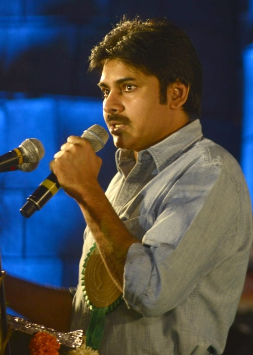 Pawan Kalyan addressing at the closing ceremony and award function of the 18th International Children's Film Festival India, in Hyderabad on November 20, 2013