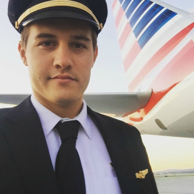 Peter Weber in a selfie as seen in April 2016