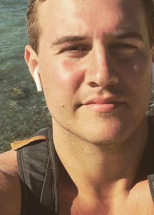 Peter Weber in an Instagram selfie as seen in January 2019