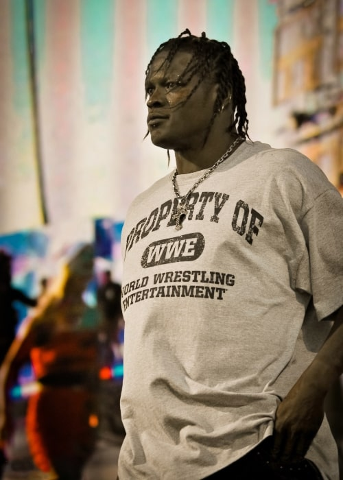 R-Truth at WWE's Tribute to the Troops show in Fort Hood, Texas, on December 11, 2010