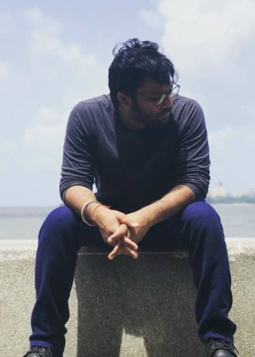 Sandeep Reddy Vanga in an Instagram post in September 2018