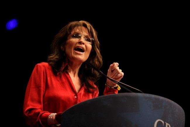 Sarah Palin at the 2012 CPAC in Washington