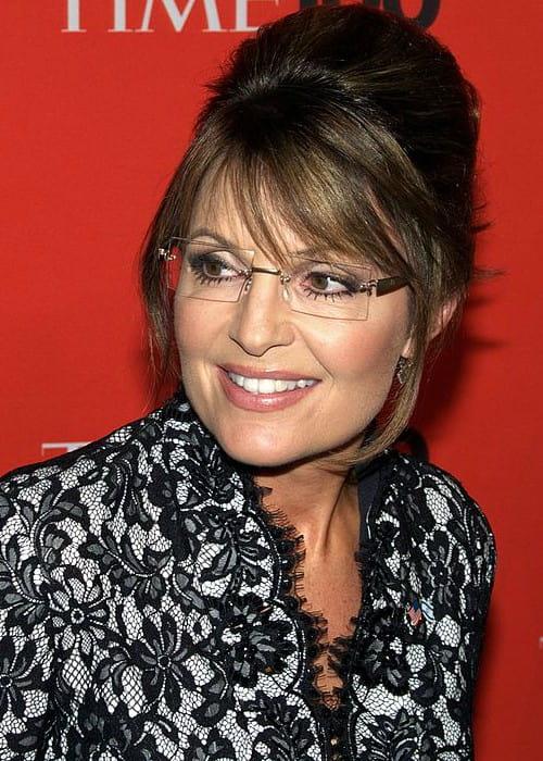 Sarah Palin at the Time 100 Gala in May 2010