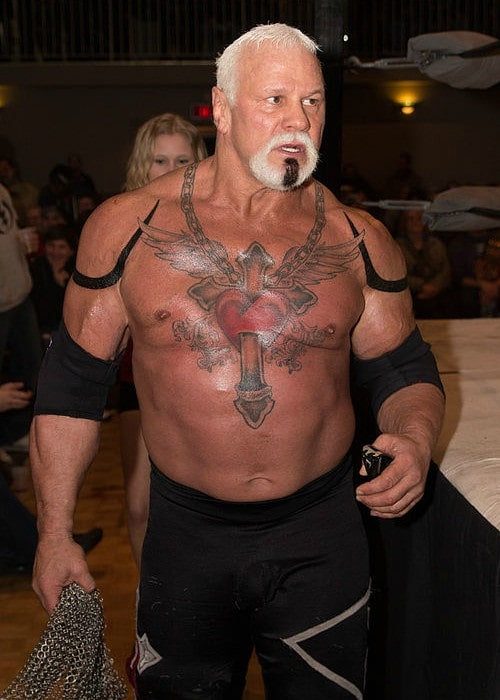Scott Steiner at the Hardcore Roadtrip's Born 2B Wired show in London in March 2013