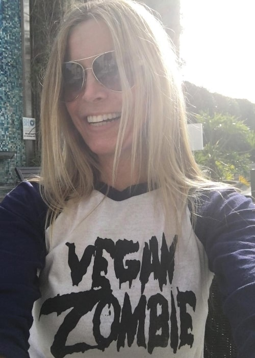 Sheri Moon Zombie as seen while taking a selfie in January 2018