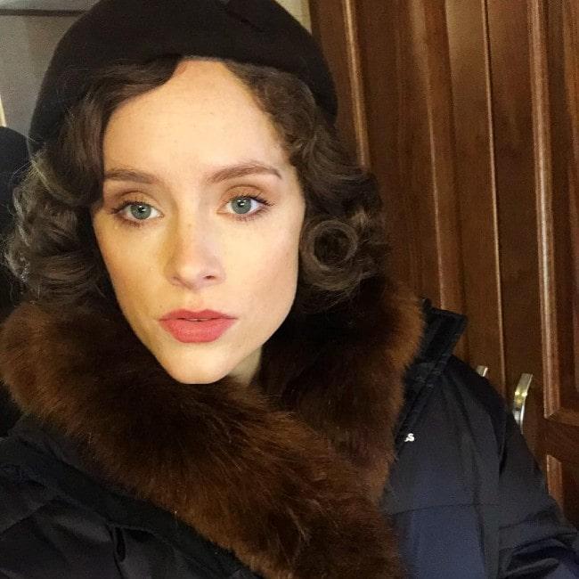 Sophie Rundle as seen in December 2018