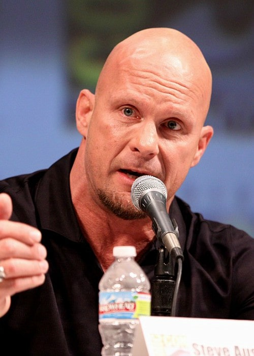 Stone Cold Steve Austin at the 2010 Comic Con in San Diego