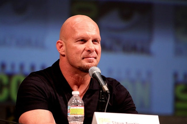Stone Cold Steve Austin at the 2010 San Diego Comic Con
