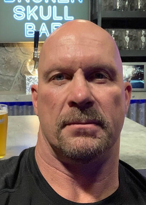 Stone Cold Steve Austin in an Instagram selfie as seen in October 2019