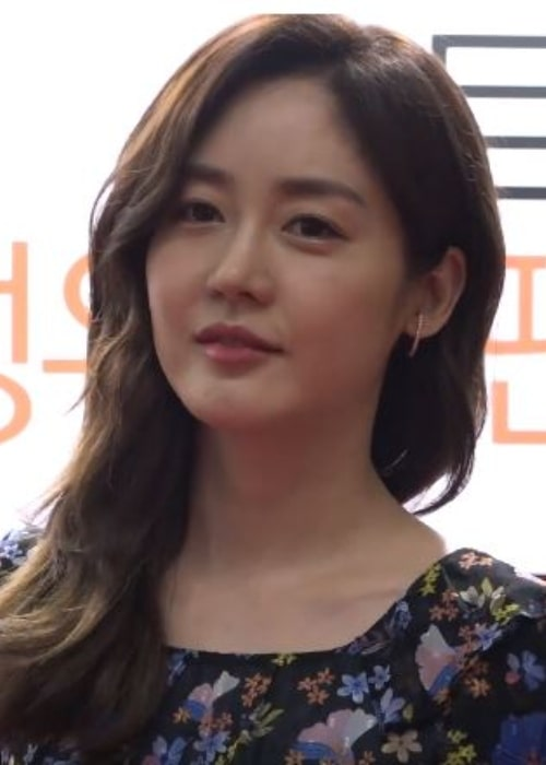 Sung Yu-ri as seen in a screenshot taken from a video that was made during a fan signing event held at the Songdo Convensia in Incheon in South Korea on May 9, 2019