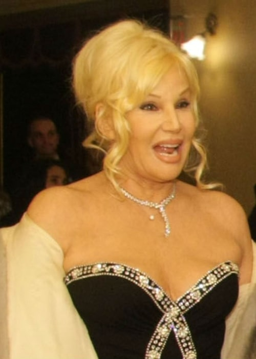 Susana Giménez as seen at the reopening of the Colón Theater in May 2010