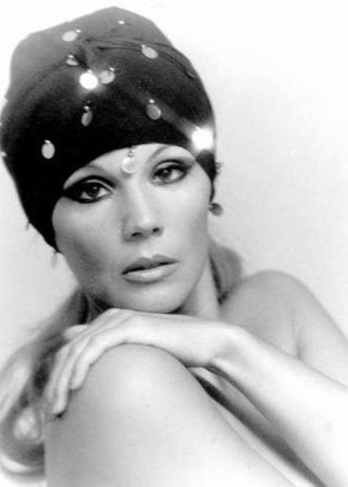 Susana Giménez as seen in a picture taken in 1966