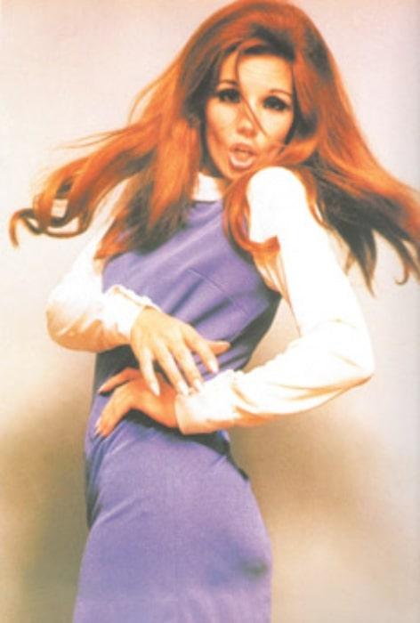 Susana Giménez in 1970
