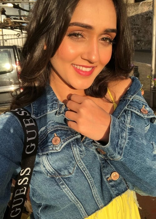 Tanya Sharma as seen in a selfie taken in Minori, Italy in December 2019