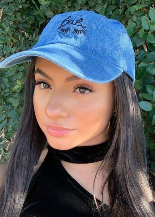 Tatiana McQuay in an Instagram selfie as seen in October 2019