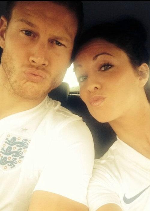 Tom Hopper and Laura Hopper in a selfie in June 2018
