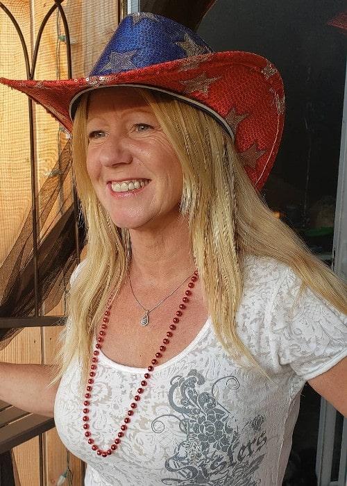 Tonya Harding as seen in July 2019