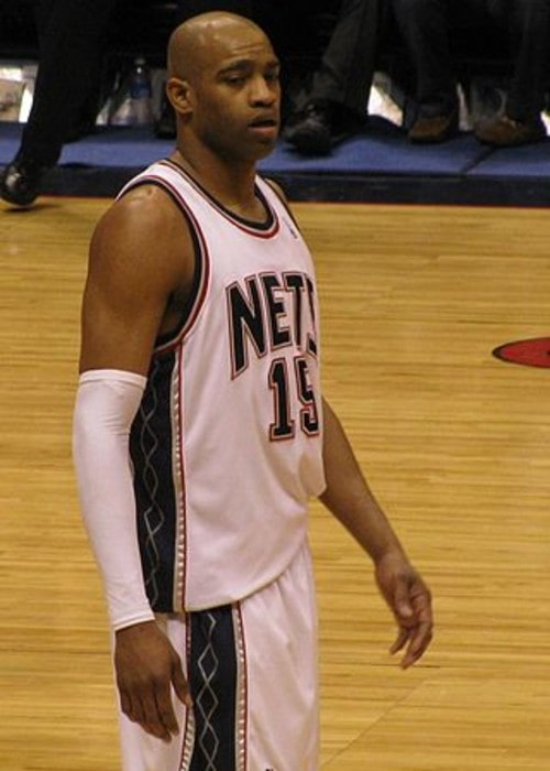 Vince Carter as seen in March 2009