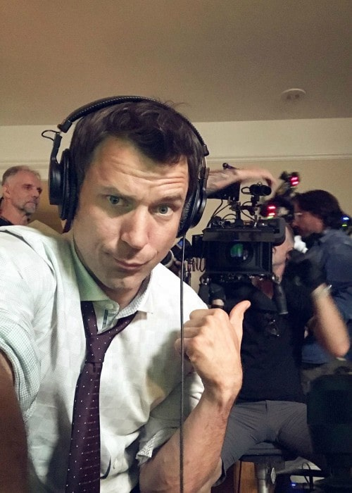 Wil Traval in a selfie as seen in January 2020