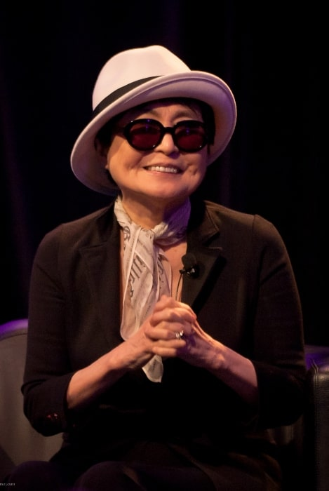 Yoko Ono as seen during an interview at SXSW in Austin, Texas in March 2011