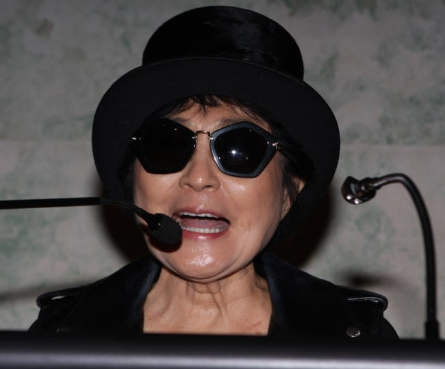 Yoko Ono as seen in November 2013
