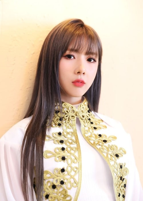 Yoohyeon as seen in a picture uploaded to the official Dreamcatcher Instagram account on November 28, 2019